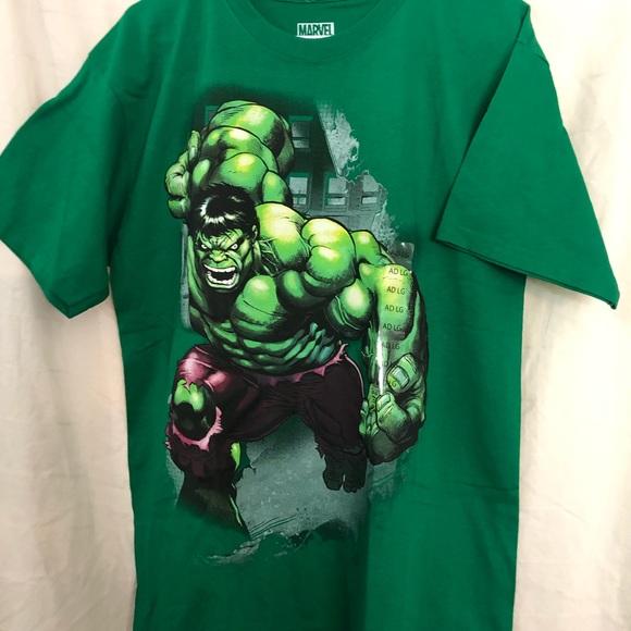 Marvel Shirts Mens Marvel Incredible Hulk Tshirt Poshmark